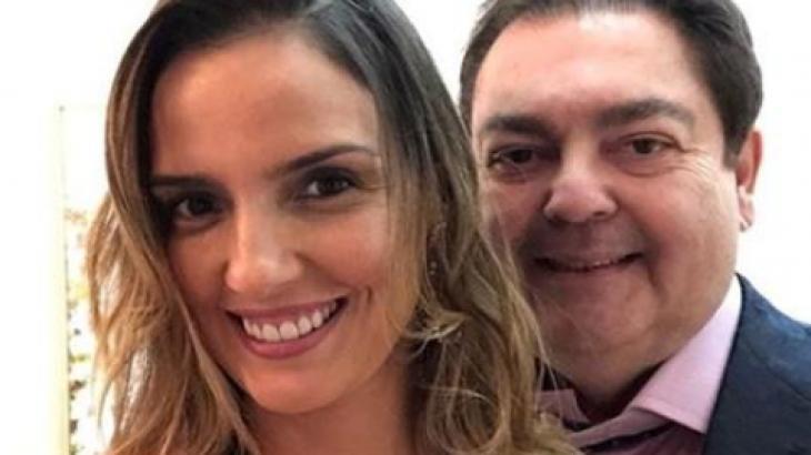 Luciana Cardoso e Faustão - Foto: Reprodução