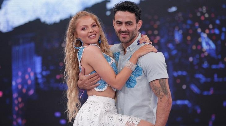 Mulheres dançam forró e Luisa Sonza lidera