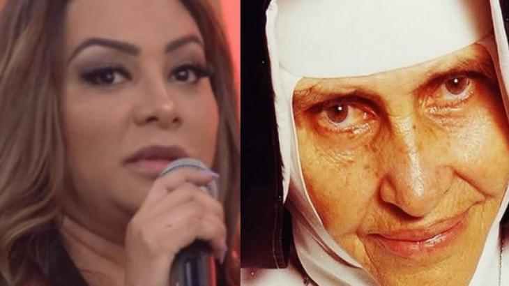 Após criticar canonização de Irmã Dulce, Márcia Fellipe participa do Encontro e é detonada