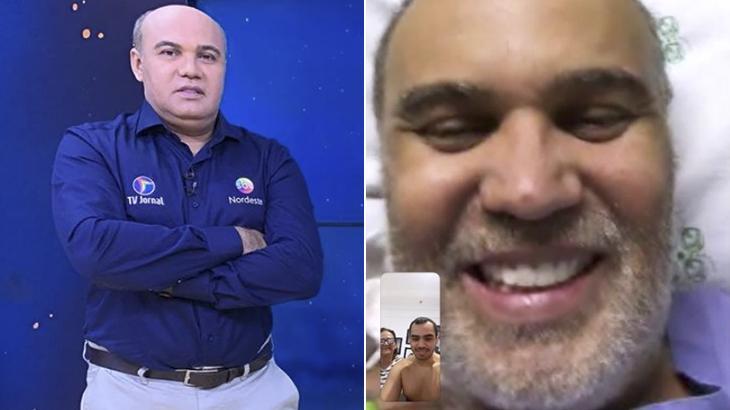 O jornalista Maciel Júnior, da TV Jornal, internado com coronavírus