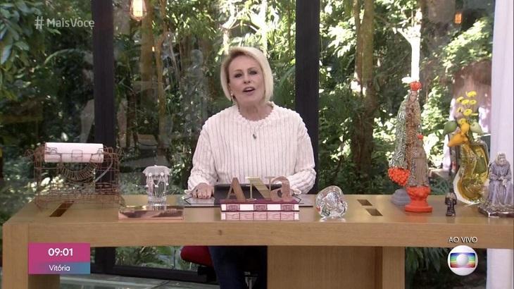 Ana Maria Braga comete gafe no