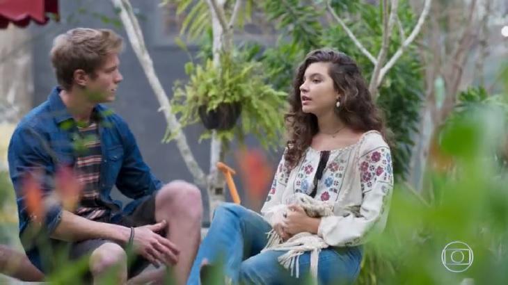 Rita vai discutir com Filipe por causa de Rui em Malhação