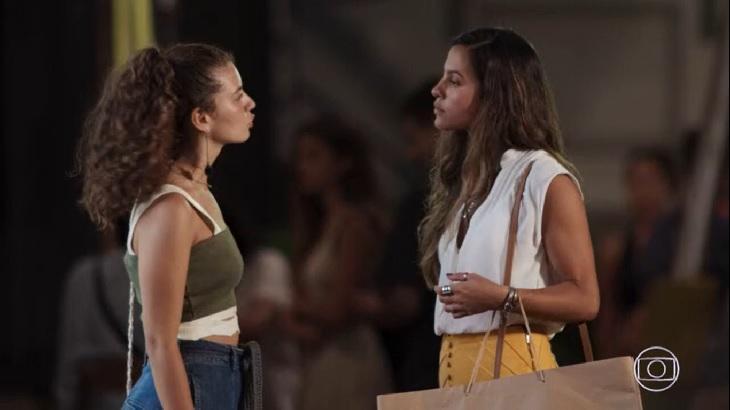 Em Malhação Rita terá uma conversa séria com Leila - Foto: Reprodução/Globoplay