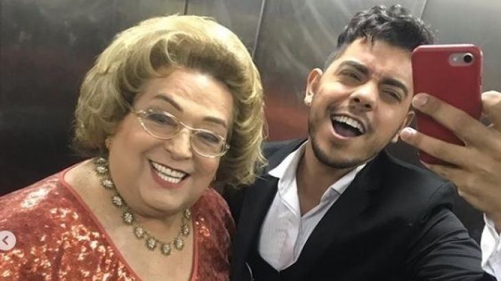 Mamma Bruschetta e Lucas Feitosa - Foto: Reprodução