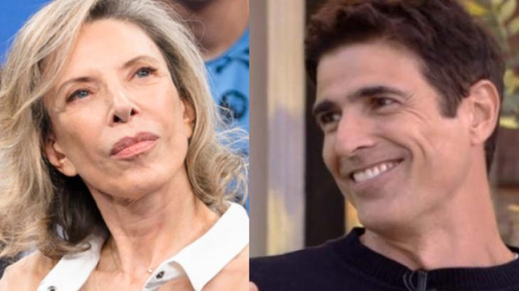 Marília Gabriela e Reynaldo Gianecchini