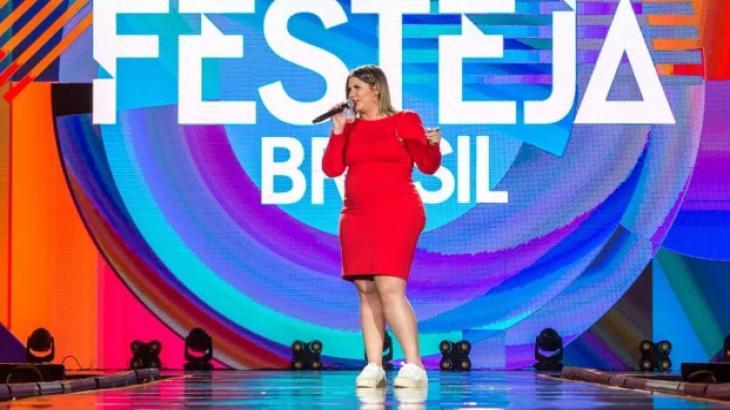 TV Globo exibe o especial Festeja Brasil com cantores de sucesso
