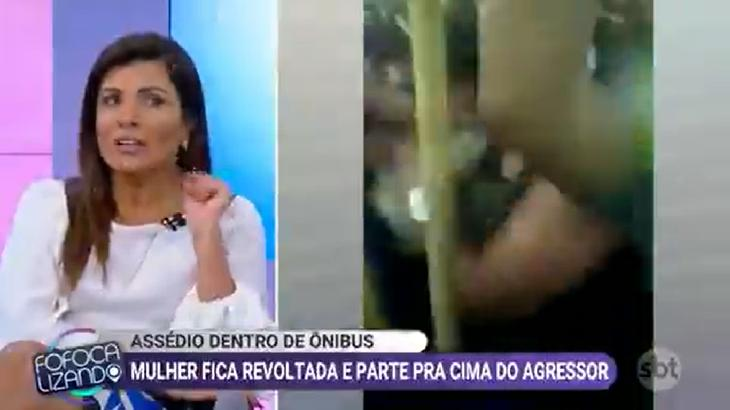 Mara Maravilha contou que já foi assediada - Foto: Divulgação/SBT
