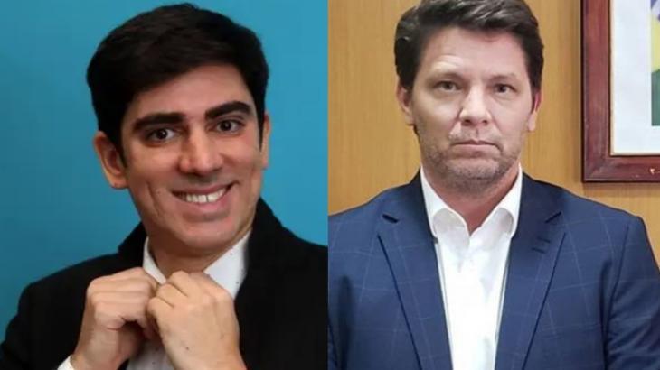 Marcelo Adnet e Mário Frias