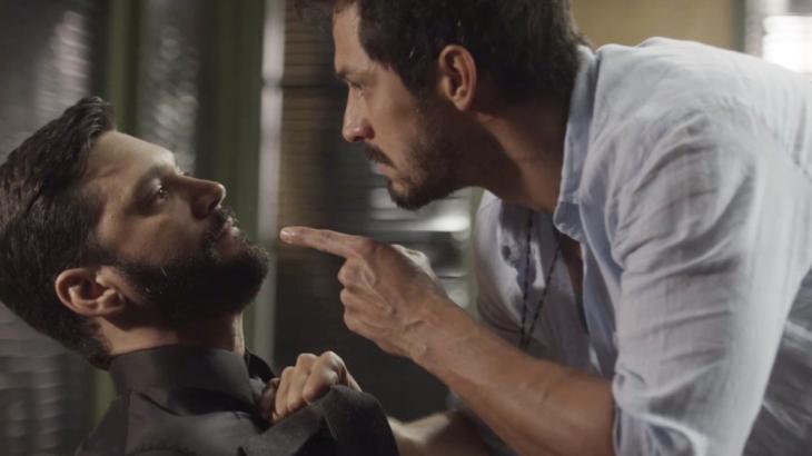 Marcos e Diogo terão briga na Editora Prado Monteiro - Foto: Reprodução