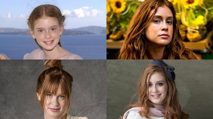Personagens de Marina Ruy Barbosa: todos ruivos - Foto: Reprodução