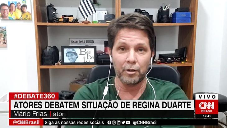 Mario Frias fala sobre suposta indicação para substituir Regina Duarte no governo Bolsonaro