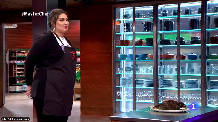 Masterchef na Espanha mostrou um prato inusitado - Foto: Reprodução