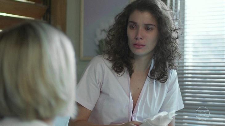 Meg reage com desespero ao saber que está grávida em