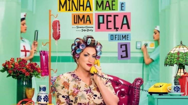 Globo comemora sucesso de Minha Mãe é Uma Peça 3 nos cinemas - NaTelona - NaTelinha