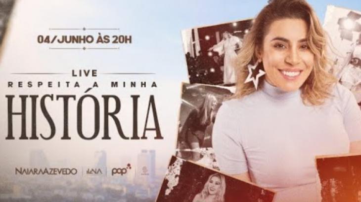 Live da Naiara Azevedo - Foto: Divulgação