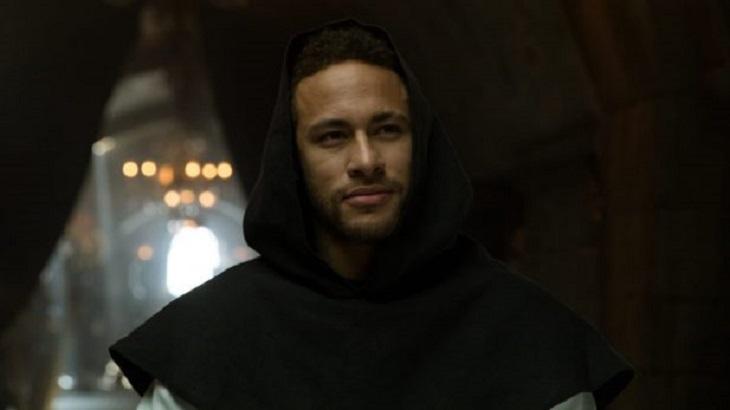 Neymar pode ser visto em dois episódios de