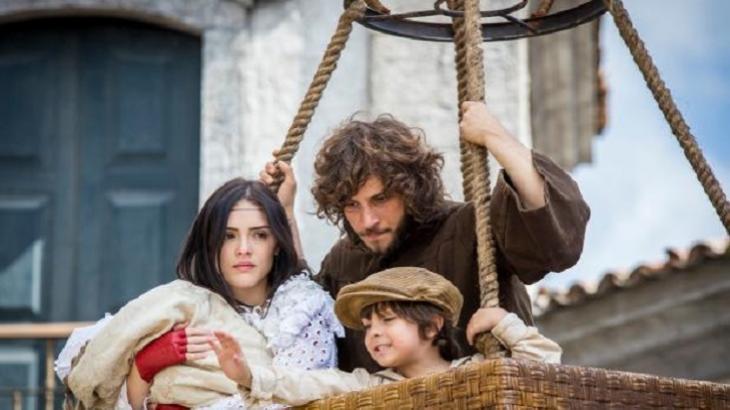 Final de Novo Mundo: Sarjeta de Sebastião, morte e destino de Domitila