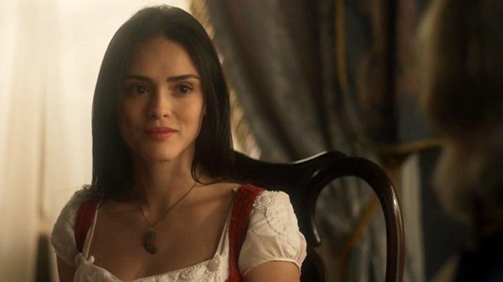 Novo Mundo: Histérica, Anna pega punhal para acabar com a vida de Thomas
