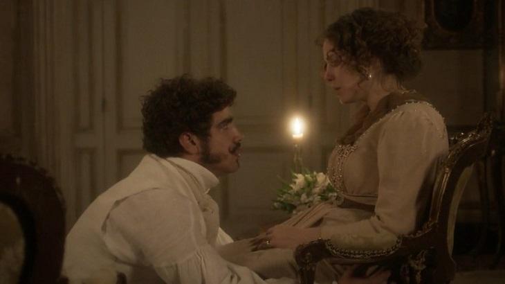 Cena de Novo Mundo com Pedro e Leopoldina