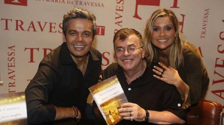 Otaviano Costa ganhou mensagem de Walcyr Carrasco. Foto: Divulgação
