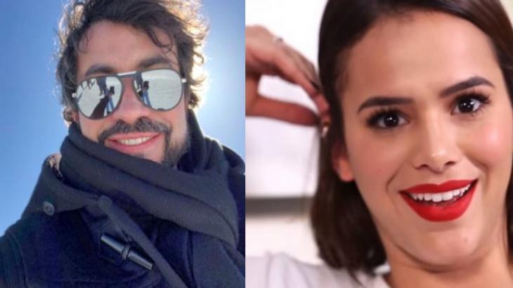 Padre Fábio de Melo faz montagem com Bruna Marquezine e atriz reage