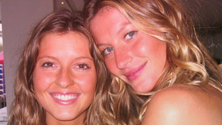 """Gisele Bündchen parabeniza irmã gêmea: """"Minha melhor amiga"""""""