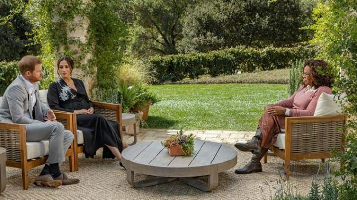 Príncipe Harry, Meghan e Oprah