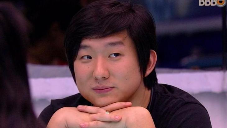 Pyong Lee durante o BBB20 - Foto: Globo
