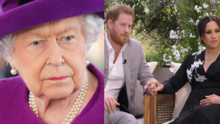 Rainha Elizabeth, Príncipe Harry e Meghan