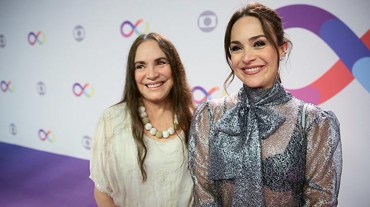 Regina Duarte e a filha, Gabriela Duarte