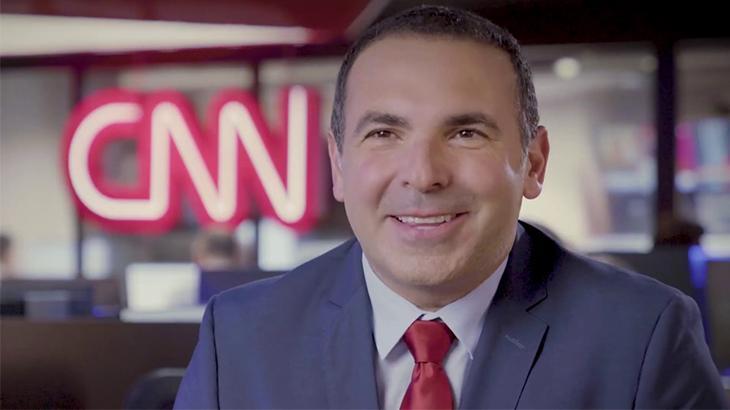 O apresentador Reinaldo Gottino deixou a CNN Brasil após poucos meses de contratação - Foto: Reprodução