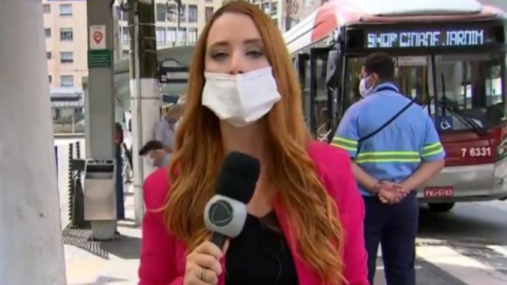 Repórter Luiza Hager - Foto: Reprodução