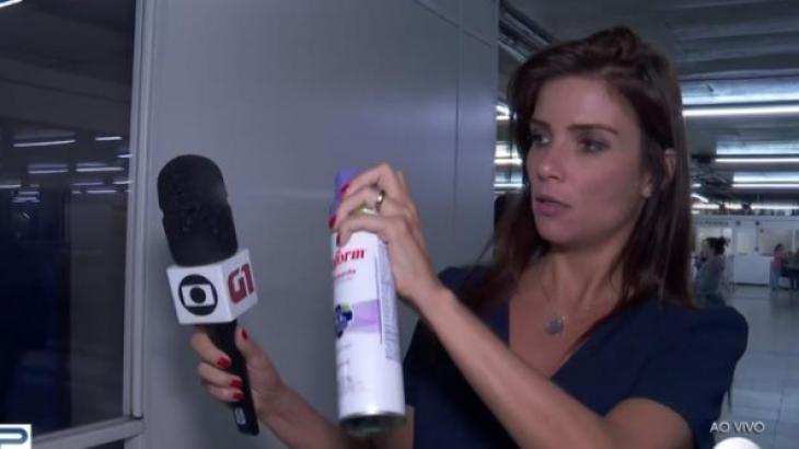 Sabina Simonato no Bom Dia SP - Foto: Reprodução
