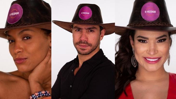 Votação Roça A Fazenda 2020 - Lidi Lisboa x Mariano x Raissa Barbosa - Quem vai ficar? - A Fazenda - NaTelinha