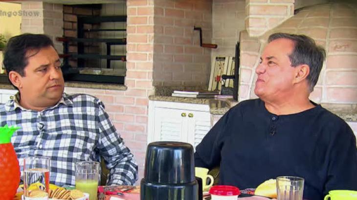 Geraldo Luís e Ronnie Von - Foto: Reprodução