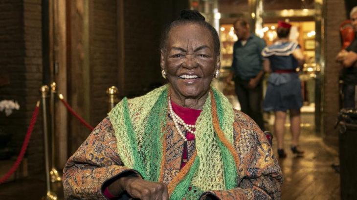 Morre, aos 98 anos, a atriz Ruth de Souza