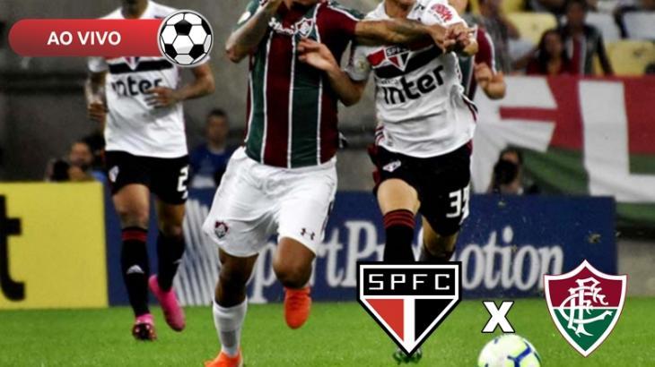 São Paulo x Fluminense ao vivo: Saiba como assistir na TV e online pelo Brasileirão 2019