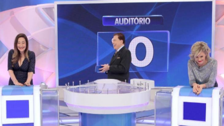 Programa Silvio Santos - Lourival Ribeiro/SBT
