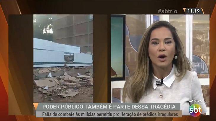 Isabele Betino faz desabafo ao vivo no
