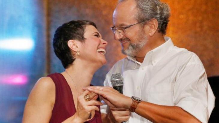 Sandra Annenberg e Ernesto Paglia - Foto: Divulgação
