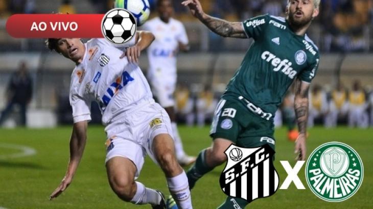 Santos x Palmeiras ao vivo: Saiba como assistir na TV e online pelo Brasileirão 2019