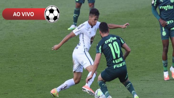 Santos x Palmeiras - Foto: Divulgação