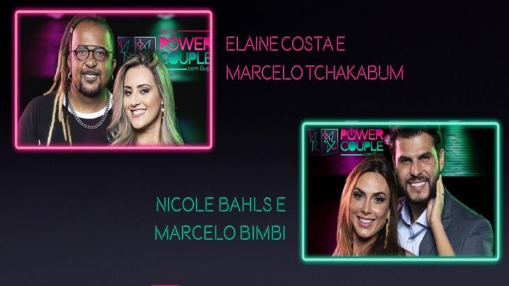 Casais Marcelo e Nicole e Tchakabum e Elaine estão na DR do Power Couple; quem vai ficar?