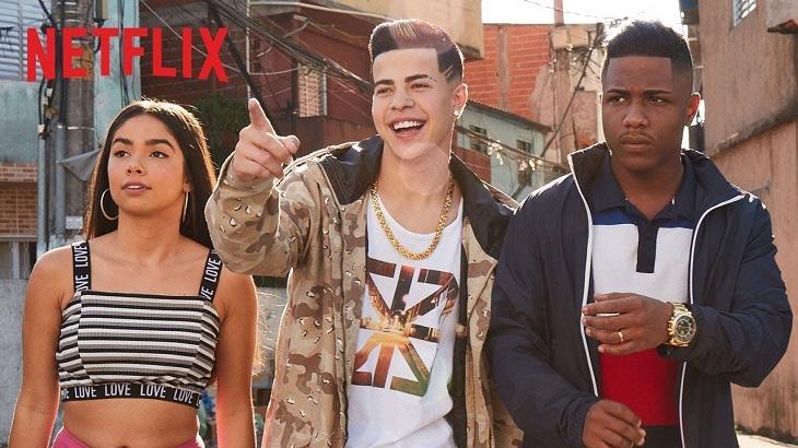 Cena de Sintonia, da Netflix