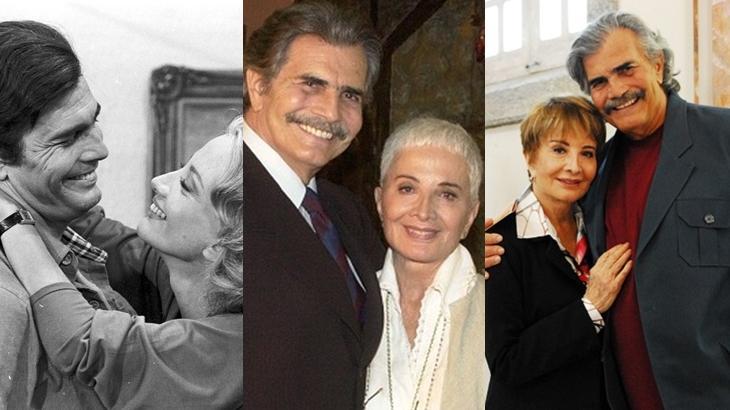 Tarcísio Meira e Glória Menezes estão há 60 anos juntos - Foto: CEDOC/TV Globo