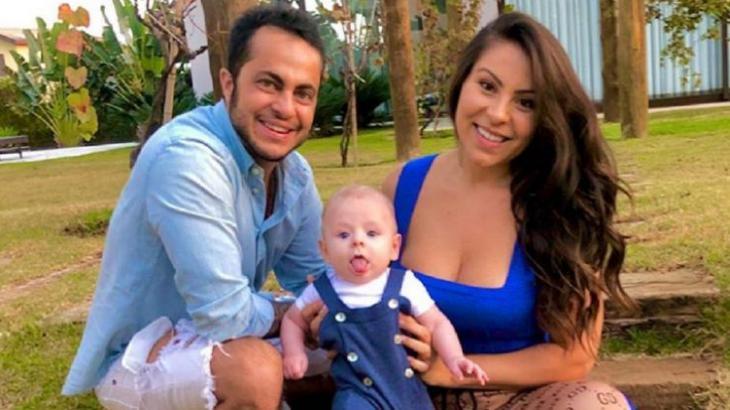 Thammy Miranda, Andressa Ferreira e Bento - Foto: Reprodução