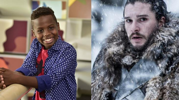 """Jeremias, vencedor do """"The Voice Kids"""", e personagem de """"Game of Thrones"""""""