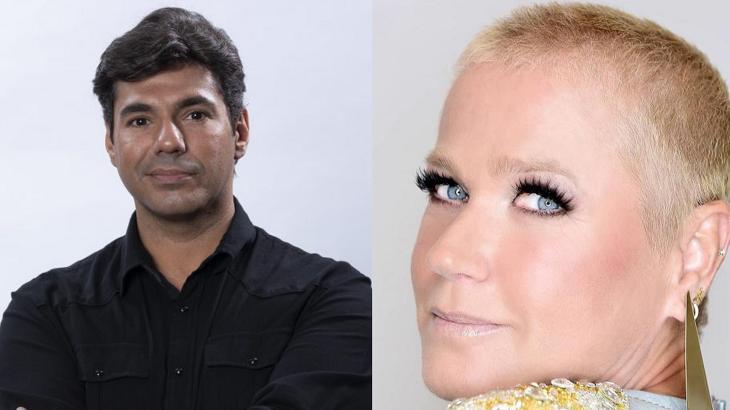 Xuxa teve desempenho melhor que Felipe Bronze na audiência - Foto: Montagem