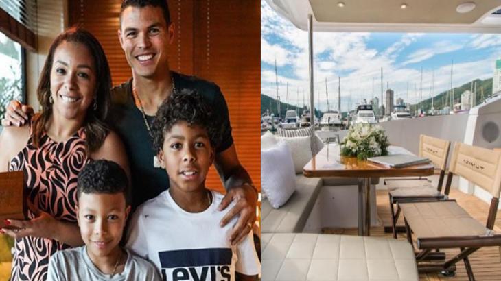 Jogador Thiago Silva compra iate-mansão luxuoso de quase R$ 6 milhões; veja fotos