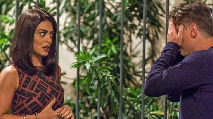 Na novela Totalmente Demais, Arthur e Carolina vão quebrar o pau - Foto: Divulgação